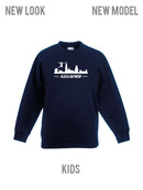 Olicsa SWEATER Navy KIDS - Antwerp Skyline