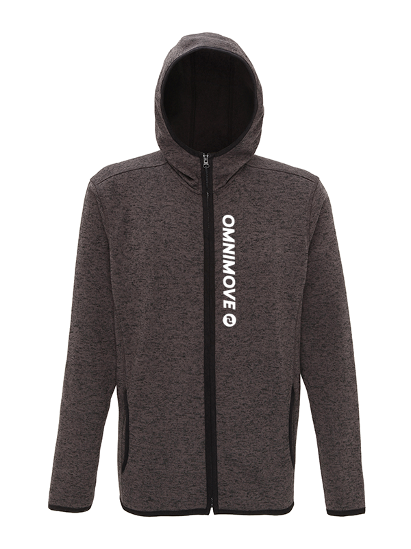 OmniMove Melange knit fleece jacket Men/Women