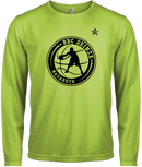 Warm Up / Shooting shirt Lime Dry Fit