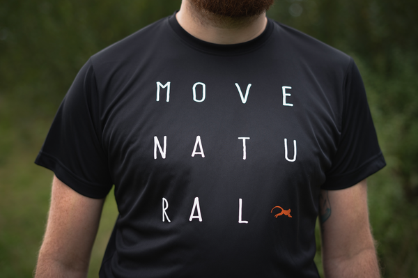 Move Natural - Letters Tee - Men