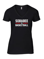 Sobabee T-shirt Ladies V-neck