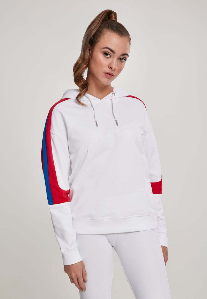 Ladies Panel Terry Hoody