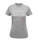 Move Natural - Letters Tee - Ladies