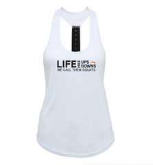 Move Natural - Squats Performance Tank Top