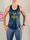 T&T Woman Tank Top Black 'n Gold