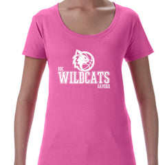 WildCats - Gavere Ladies Deep Scoop T-shirt