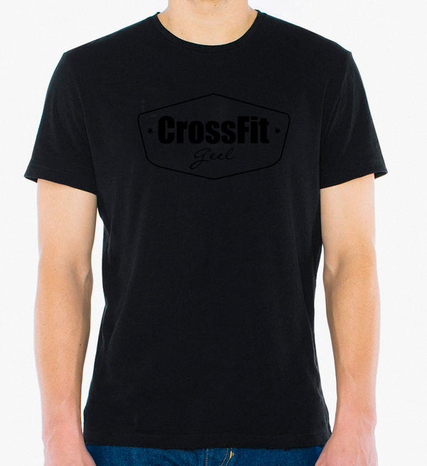 Crossfit geel Black on Black