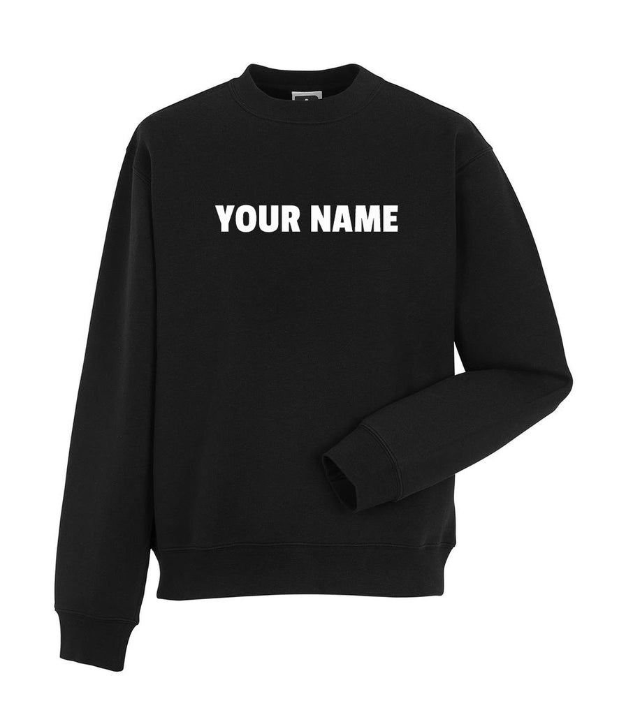 Personalised sweater