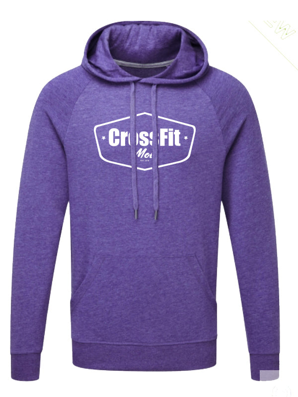 Crossfit Mol Hoodie Men Purple
