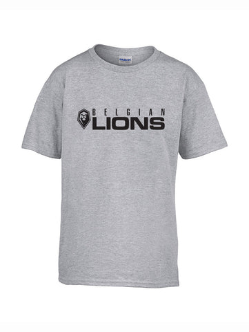 Lion grey full - Kids