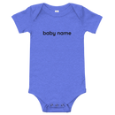 Personalised baby body