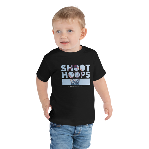 Shoot hoops toddler