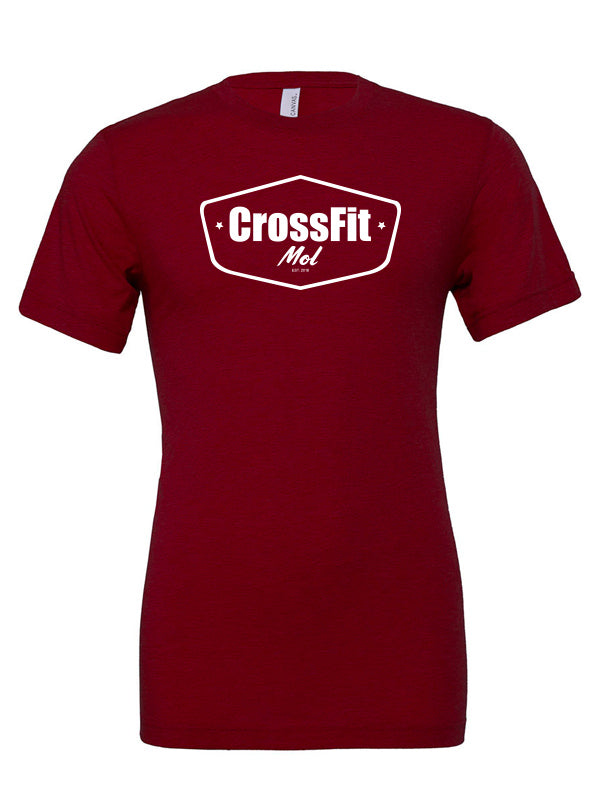 Crossfit Mol T-shirt - Cardinals Red
