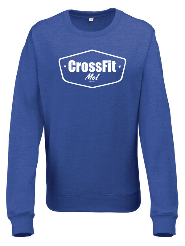 Crossfit Mol Sweatshirt Woman V2 Royal Blue
