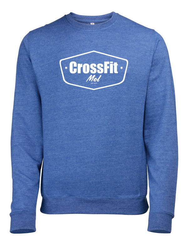 Crossfit Mol Sweatshirt Men V2 Royal Blue