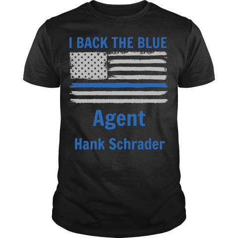I Back The Blue Customizable Shirt