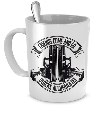 Glocks Accumulate Mug