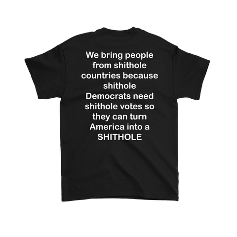 Democrat Votes Turn America Into A Shithole Shirt