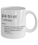 Patriot Definition Mug