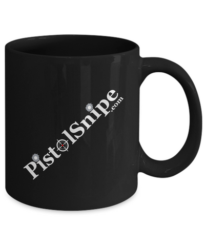 PistolSnipe Official Mug (Black)