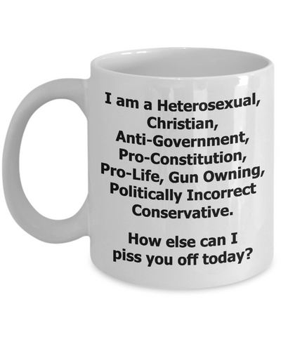 Politically Incorrect Conservative Mug