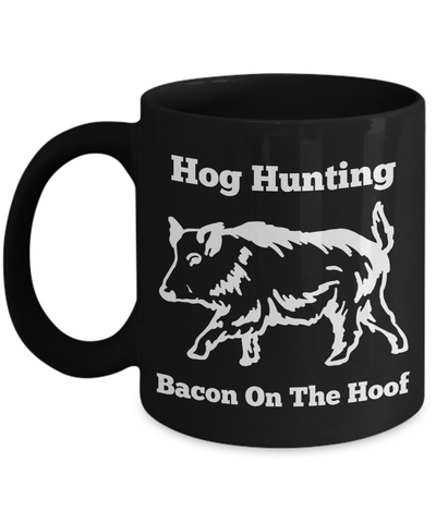Hog Hunting - Bacon On The Hoof Mug