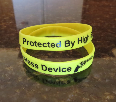 Protected By High Speed Wireless Device Wristbands