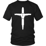 Guns Bullets Cross Shirt