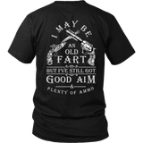 I May Be An Old Fart Shirt (Antique Design, BACK)