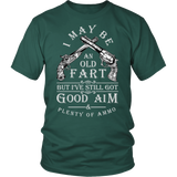 I May Be An Old Fart Shirt (Antique Design)