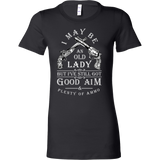 I May Be An Old Lady Shirt (Antique Design)
