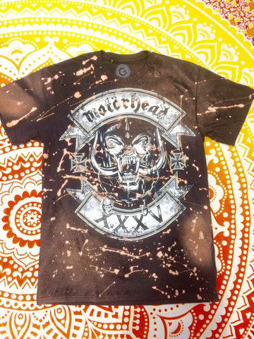 Distressed Motorhead Band Tee