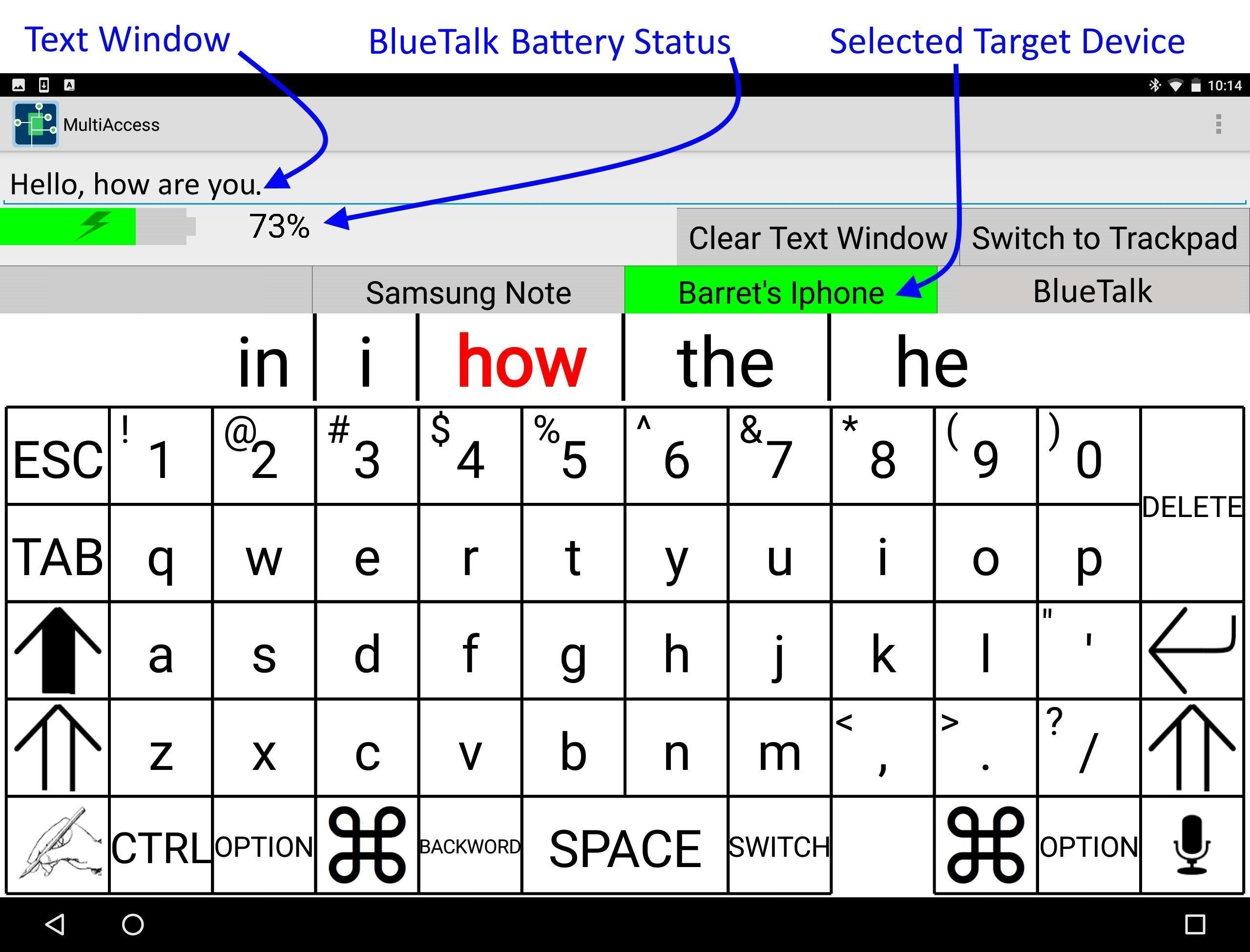 BlueTalk ScreenShot