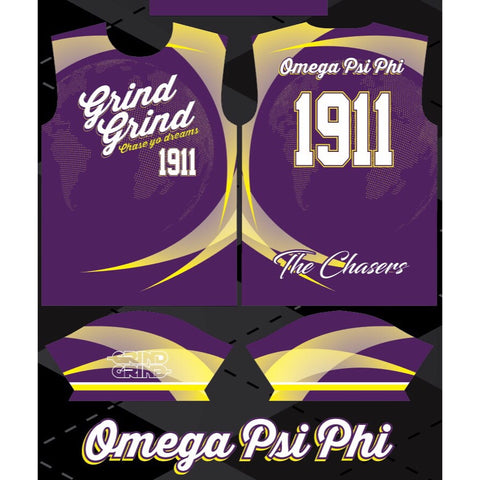 Omega Psi Phi Color-Way Soccer Jersey