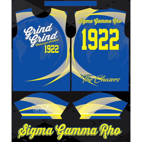 Sigma Gamma Rho Color-Way Soccer Jersey