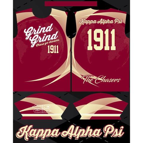Kappa Alpha Psi Color-Way Soccer Jersey