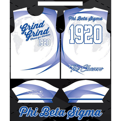 Phi Beta Sigma Color-Way Soccer Jersey