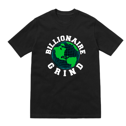 Billionaire Grind Global Tee