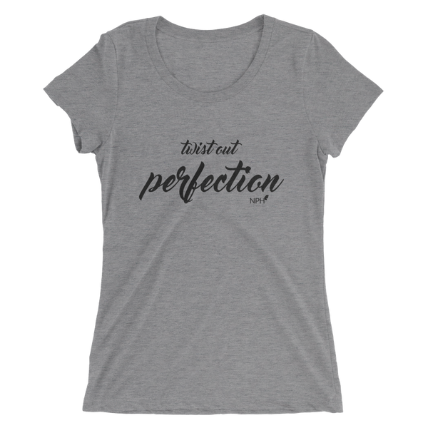 Twist Out Perfection Ladies' short sleeve t-shirt
