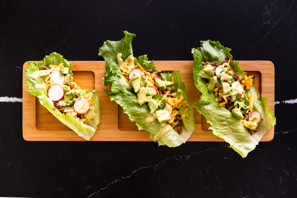 Keto-Friendly Paleo Taco Lettuce Wraps