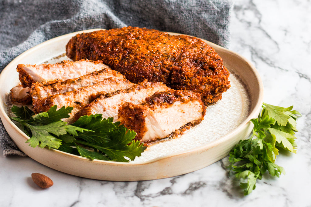 Easy Paleo Salt Free Pork Chops