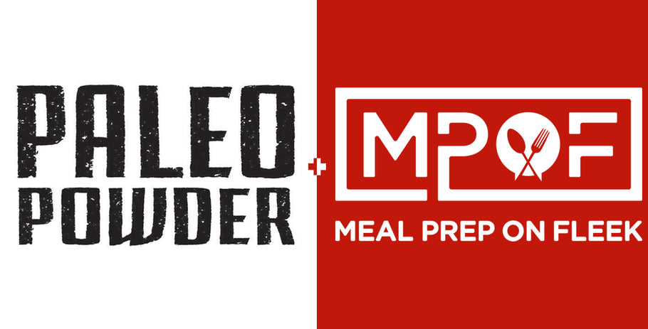 Paleo Powder Partners With Meal Prep Recipe Publisher