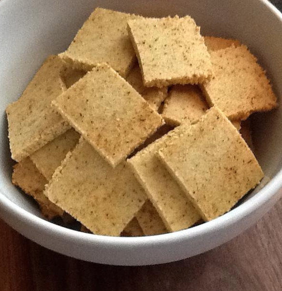 Paleo Powder Crackers