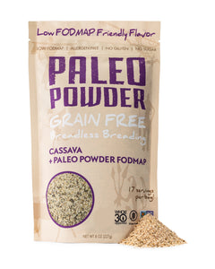 Paleo Powder Cassava + FODMAP Breadless Breading
