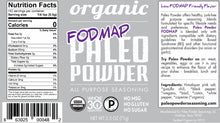 Load image into Gallery viewer, Organic Paleo Powder FODMAP All Purpose Seasoning Blend