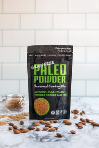 NEW! Paleo Powder Almond + Herbed Salt Free Breadless Breading
