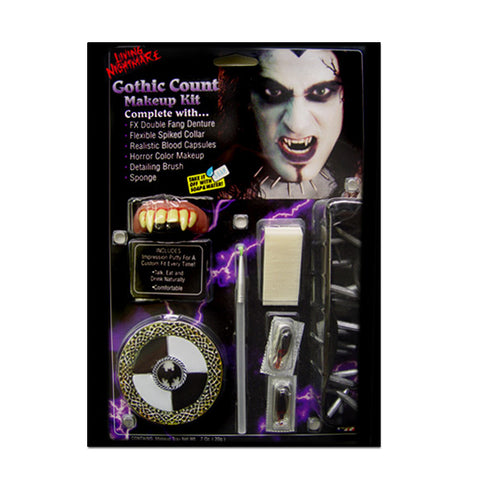Gothic Count Makeup Kit
