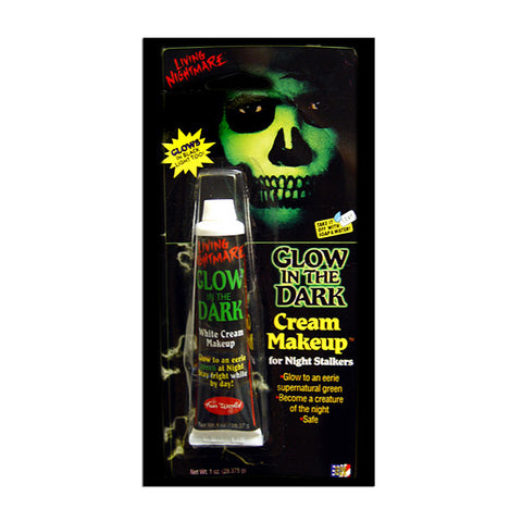 Glow In The Dark Cream Halloween Makeup