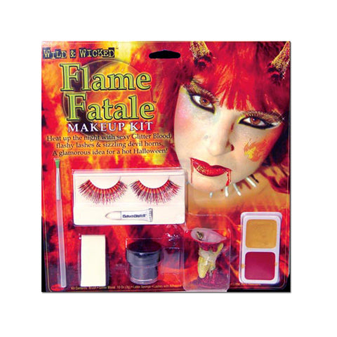 Flame Fatale Devil Horns Makeup Kit