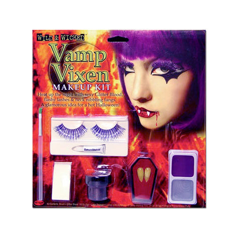Vamp Vixen Fangs & Lashes Makeup Kit